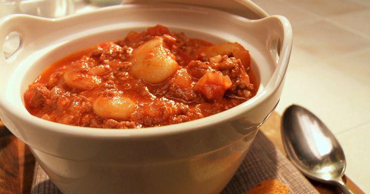 Découvrez cette recette de Chili à l'italienne pour 4 personnes, vous adorerez!