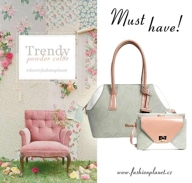 POWDER GREY HANDBAG COLLECTION BY DOCA TOTE & CROSS BODY