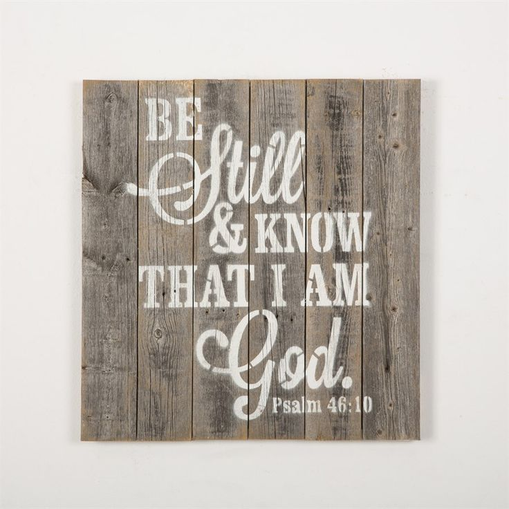 Reclaimed Wood Scripture Sign                                                                                                                                                                                 More