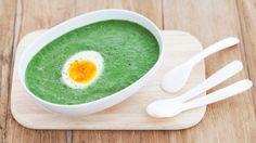 Spinatsuppe med egg - kjapt, godt og sunt