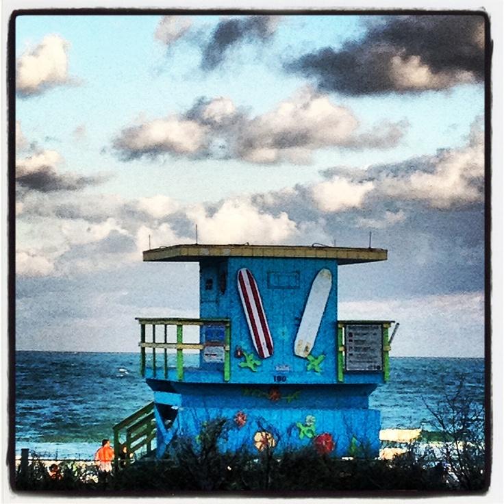 Surfing' in Miami