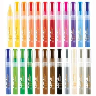 Original pinner says: Montana Acrylic Markers: Best things EVER; water based paint pens.  its like acrylic paint in pen form!!!!  THEY ARE FANTASTIC!!!