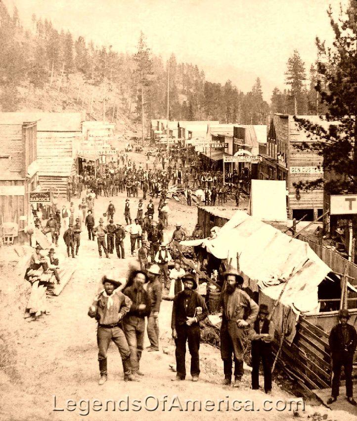 Deadwood -South Dakota Main Street, 1870s