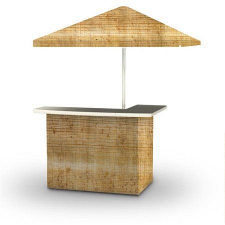 Best of Times 2001W2405P Particle Board Palapa Portable ... on Palapa Bar Backyard id=18401