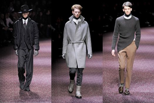 Lanvin Men Fall 2011: Classic Ideals of the Gentleman