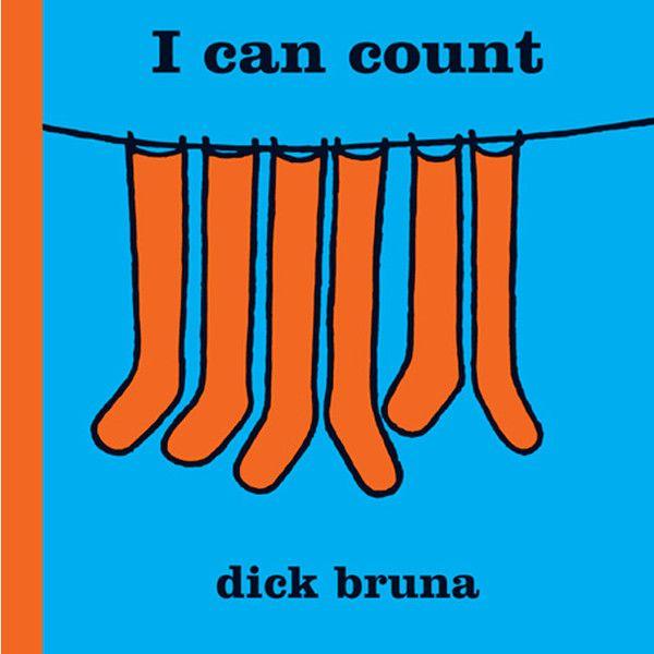 """Englisches Kinderbuch """"I can count"""" von Dick Bruna – mundo azul"""