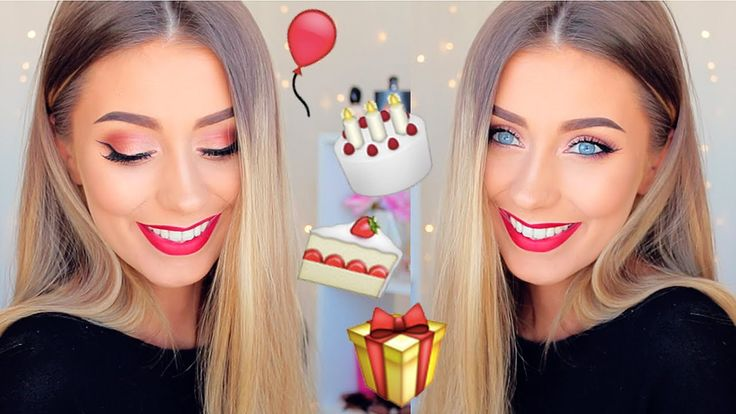 Get Ready With Me: 21st Birthday Makeup