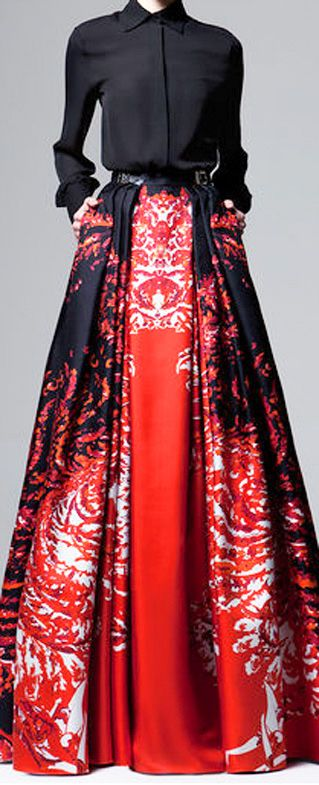 Red we love, the favorites of StoresConnect.nl, be inspired! Zuhair Murad Pre Fall 2014 Collection