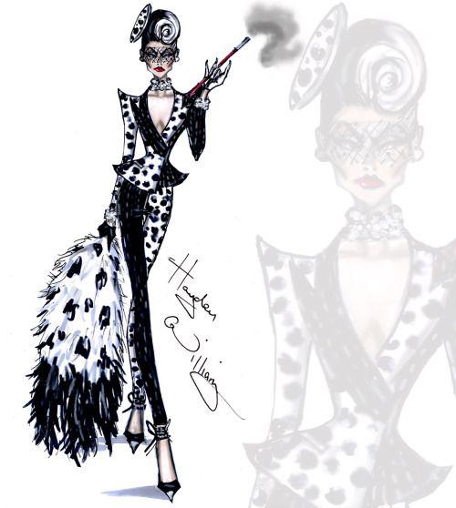 "Cruella de Vil collection by Hayden Williams ""Spot On Dahling"""