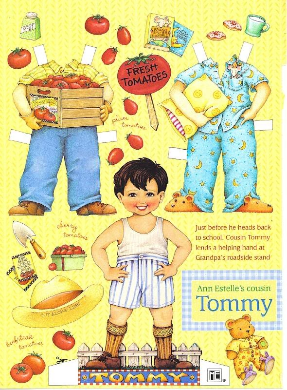 Tommy Summer* The International Paper Doll Society by Arielle Gabriel for all paper doll and paper toy lovers. Mattel, DIsney, Betsy McCall, etc. Join me at #ArtrA, #QuanYin5 Linked In QuanYin5 YouTube QuanYin5!