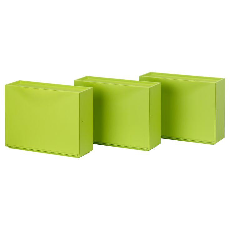 TRONES Shoe/storage cabinet - green - IKEA