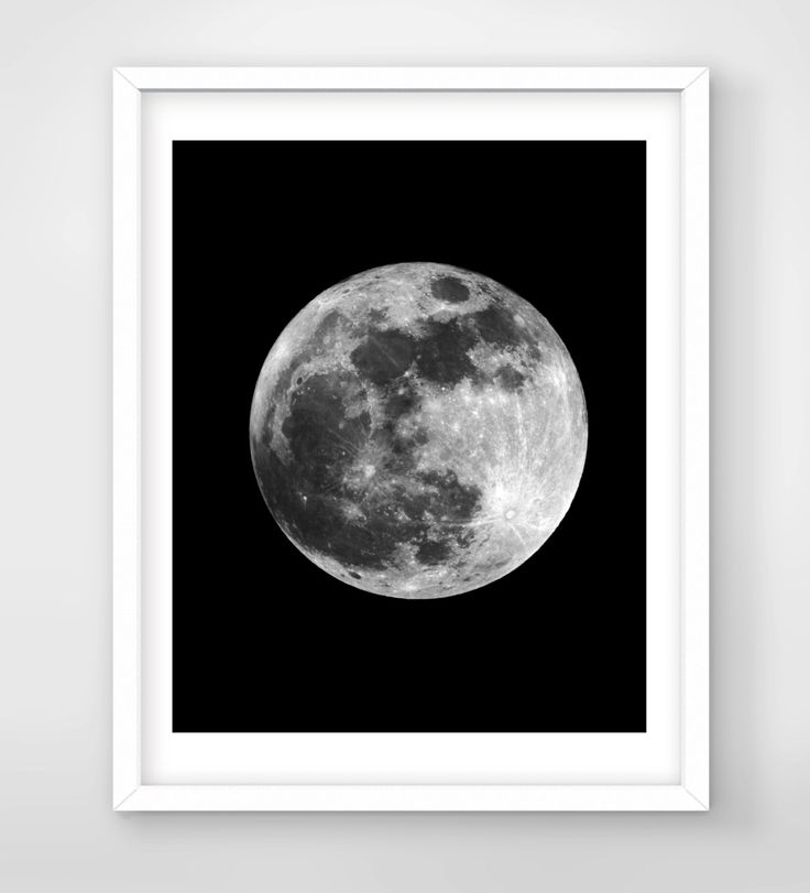 30% OFF SALE Moon Phases Art Digital Art Download Digital Print Canvas Art Art Print Large Painting Instant Download 8x10 (3.50 USD) by FreezleDigitalArt