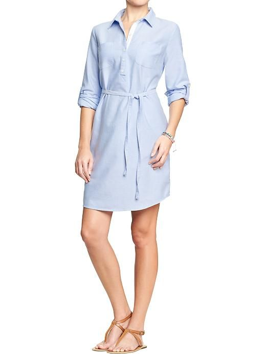 Old Navy | Women's Oxford Shirtdresses
