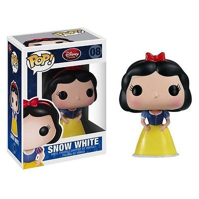 Just got this at Barns and Nobles. I couldnt help it. Funko Pop Vinyl Figure Disney Series 1 Snow White   eBay