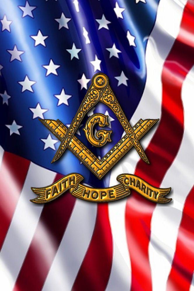 U.S. Flag Faith Hope Charity Cell Phone wallpaper