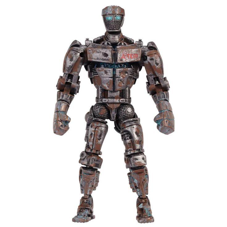 Figura Atom, Acero Puro, 12cm. Con luz. Oferta por embalaje defectuoso Figura de 12cm del personaje de Atom, protagonista de la saga Acero Puro, incluyendo luz en el torso.