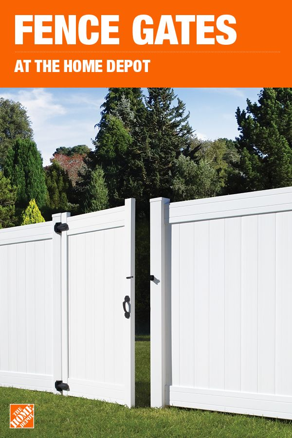 The Home Depot Has Everything You Need For Your Home Improvement Projects Click To Learn More And Sho Outdoor Furniture Plans Privacy Fence Designs Fence Gate