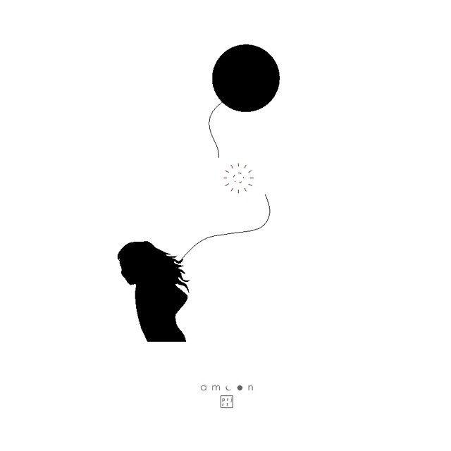 moon `87 _ ballmoon  #visualart #amoon #project #poster #design #graphic #dkv #ilustration #vector #art #moon #ballon