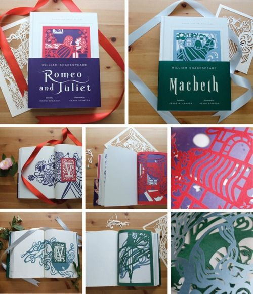 Giveaway - Romeo and Juliet, Macbeth by all things paper, via Flickr