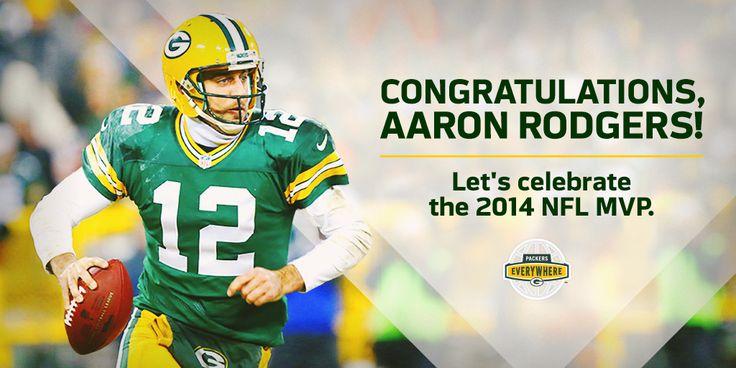 Aaron - 2nd time MVP!