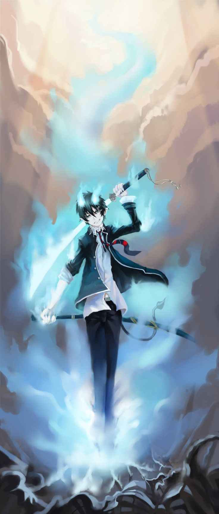 Rin Okumura - Ao no Exorcist / Blue Exorcist