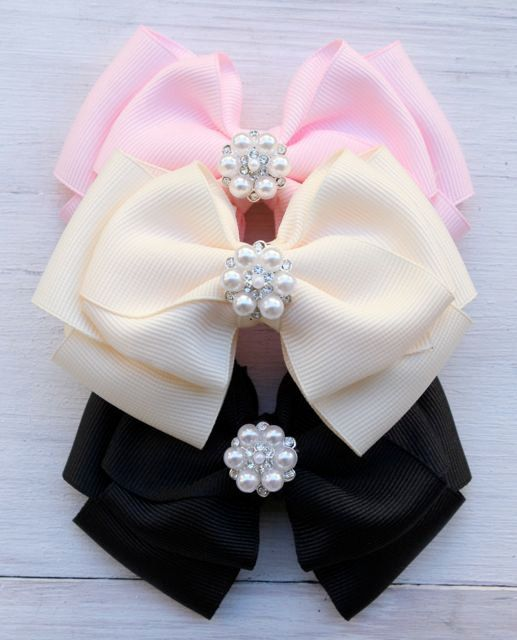 Handmade Hair Accessories Handmade Hair Bow от ModernMeCollection