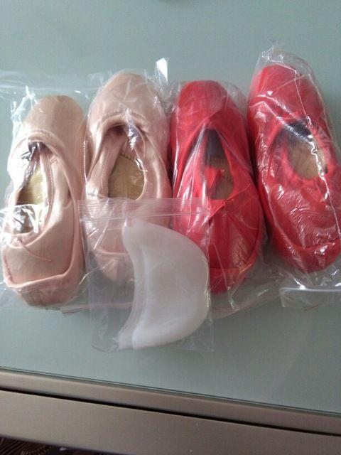 Novo 2016 moda na venda senhoras de alta qualidade sapatos de ballet pointe sapatos de dança profissional com fitas mulher zapatos de baile Loja Online | aliexpress móvel