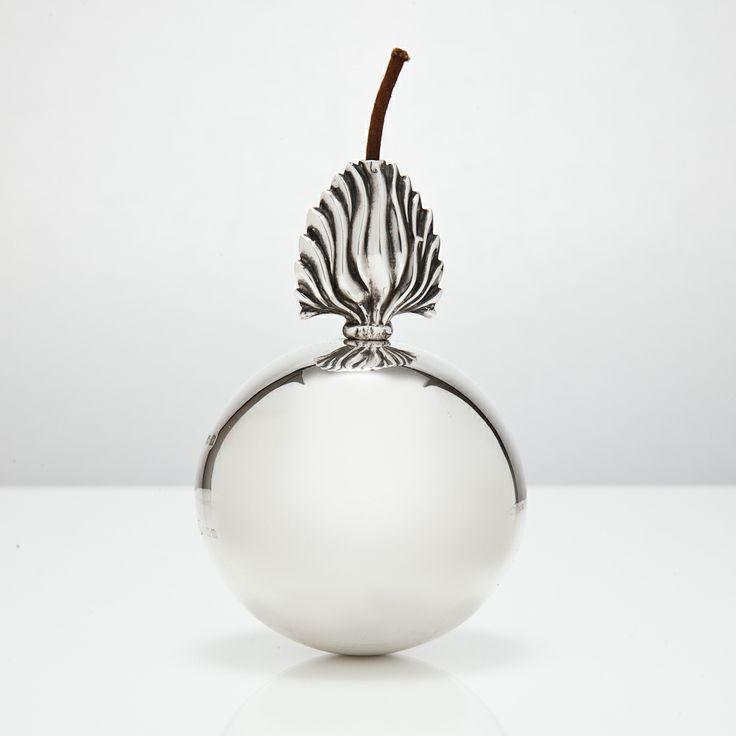 Military silver table lighter circa 1925 @silvervaultslondon.com