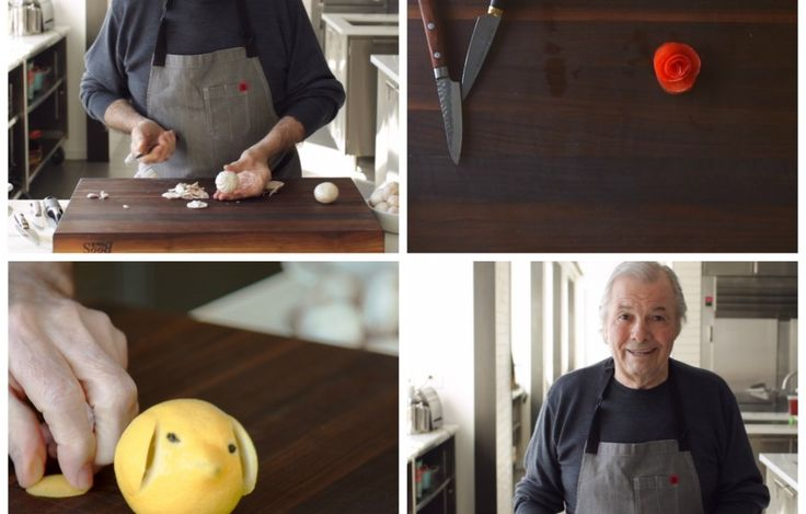 Chef Jacques Pépin is a culinary legend. Take his master class in knife skills with this collection of how-to videos.