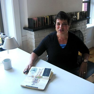 About the Artist - Drawings and text by Vicki Behm