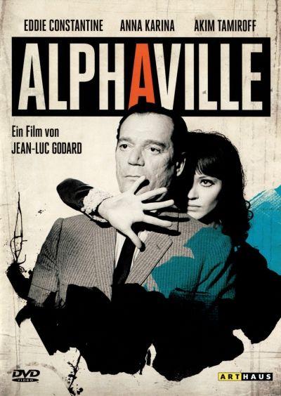 Jean-Luc Godard, Alphaville, Lemmy Caution, eddie constantine, anna karina, movie poster