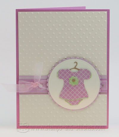 """""""Stamps and Stitches: Baby card"""" (quote) via stamps-and-stitches.com"""