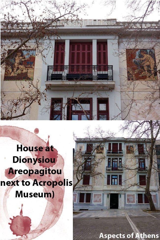 building in dionisiou aeropagitou street