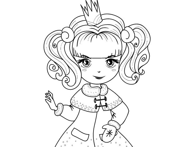 30 best Dibujos de Princesas para colorear images on Pinterest