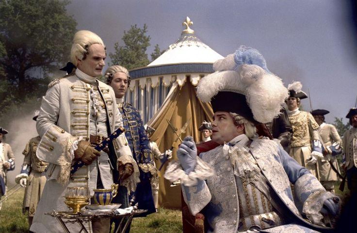 """Didier Bourdon as Louis XV in """"Fanfan la Tulipe"""" (2003)."""