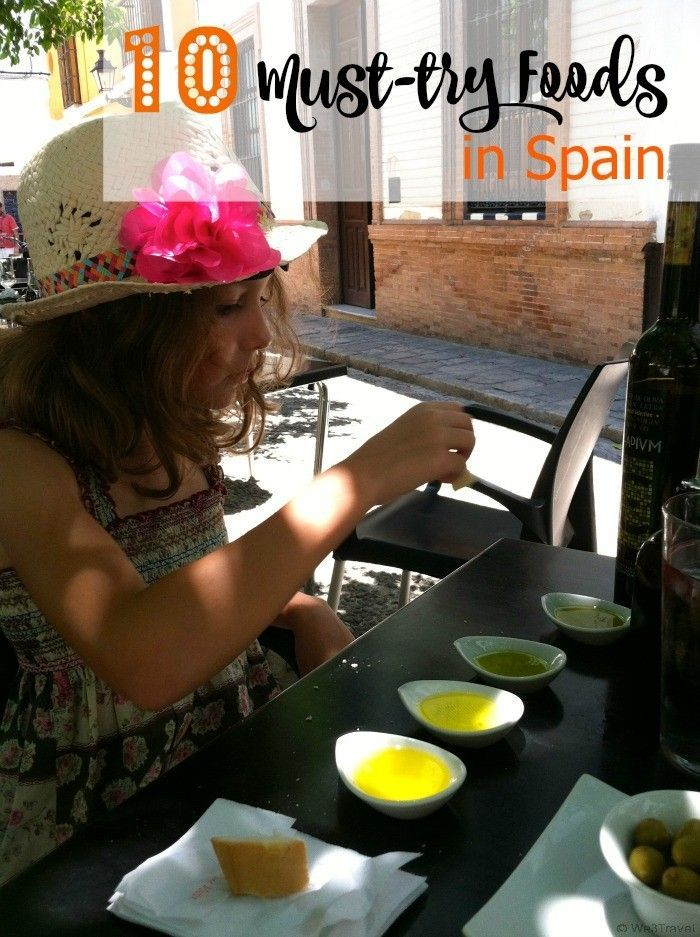 10 Must try foods in Spain -- find out all the specialties you simply must try on your trip to Spain including suggestions on where to get the best in Barcelona, Madrid, Segovia, Ronda, and Seville.