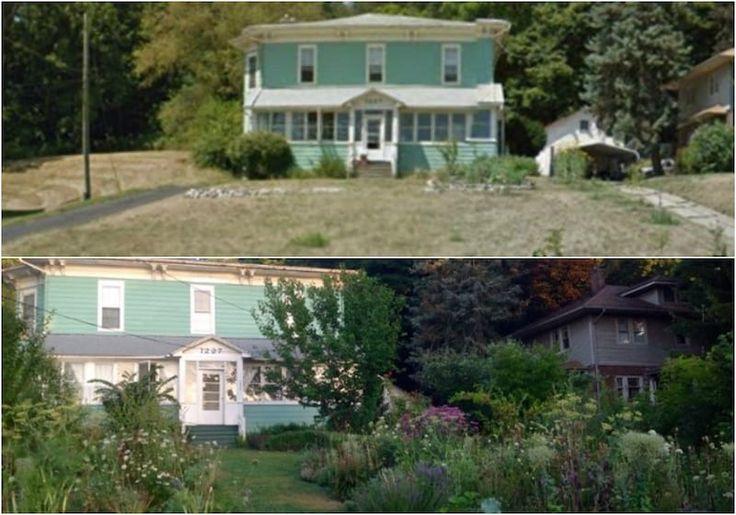 En tan solo 4 años transformaron su jardín en una autosuficiente huerta urbana.