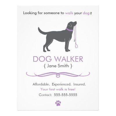 The 25+ best Dog walking flyer ideas on Pinterest Dog walker - lost pet flyer template free
