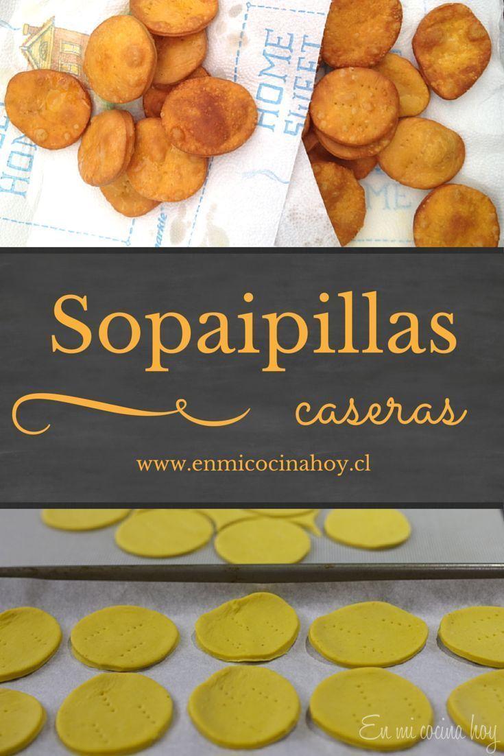Una receta fácil de sopaipillas chilenas son a base de una masa con zapallo amarillo de guarda, y luego fritas. Deliciosas pasadas, espolvoreadas con azúcar flor o con palta.