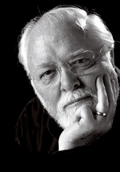 Richard Samuel Attenborough, Baron Attenborough, CBE (29 Aug 1923 – 24 Aug 2014) was an actor, film director, film producer, and entrepreneur, President of the Royal Academy of Dramatic Art (RADA). As a film director and producer, he won two Academy Awards for Gandhi in 1983. He also won four BAFTA Awards and four Golden Globe Awards. As an actor, he is unrivalled and an overall lovely man