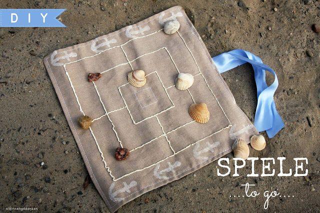 Huhu ihr Süßen!Heute habe ich mal wieder ein kleines DIY im Gepäck. Bei uns steht der Sommerurlaub am Meer kurz bevor und mindestens im Urlaub darf es an Spielen nie fehlen. Wir spielen immer gern, da
