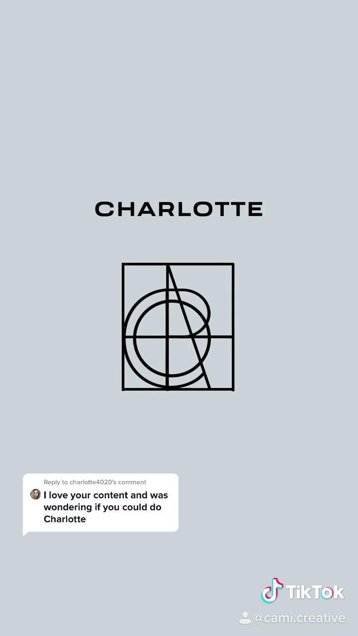 Name Logo Design Charlotte Video Logo Design Trends Graphic Design Typography Name Logo
