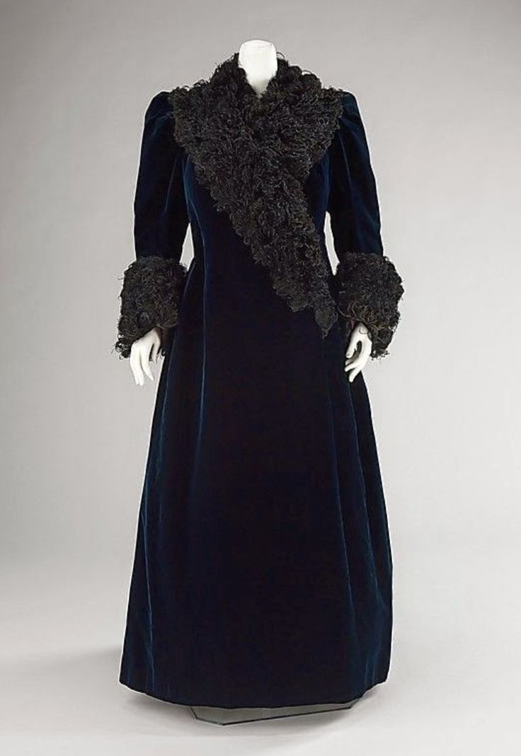 Evening Coat from the House of Worth in 1890 A.D.