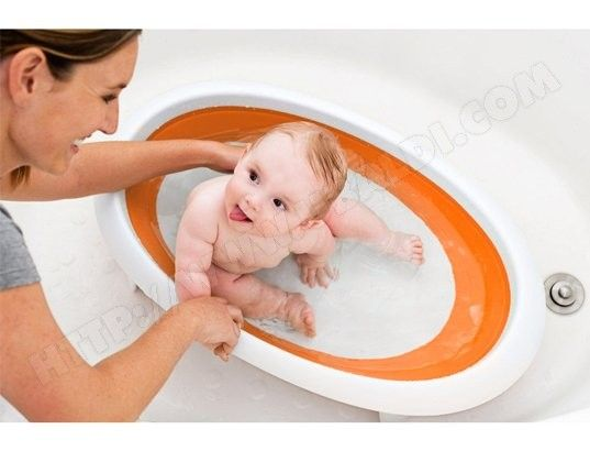 Baignoire bébé pliable BOON Naked orange B614