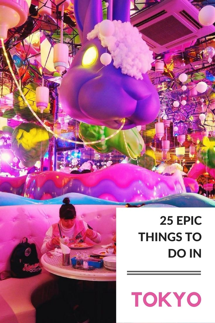 25 Fun Things To Do In Tokyo, Japan
