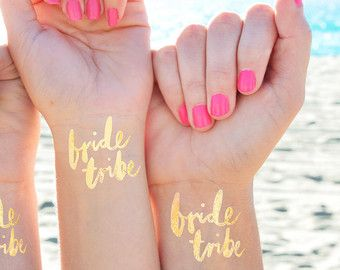 Set of 15 'Team Bride'© bachelorette party by DAYDREAMPRINTS