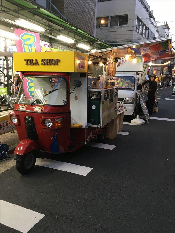 #奥沢マルシェ #auto #rickshaw #foodcart #streetfood #chai #rickshawcafe #electrike #bajaj #エレクトライク #オートリキシャ #オートリクシャー #chaiwala #chaiwallah #tea stall