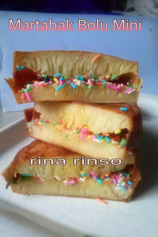 Dapurnya Rina Rinso: Martabak Bolu Mini
