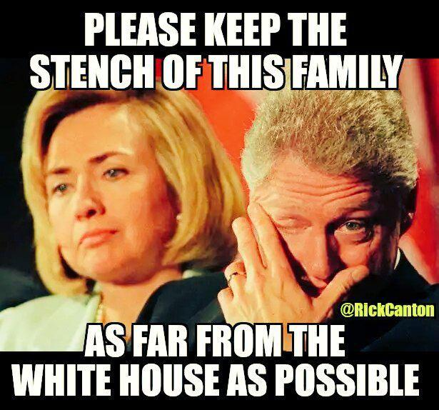 HEY #UniteBlue - nothing reeks more than the political corruption of @HillaryClinton's #ClintonCash. #WakeUpAmerica