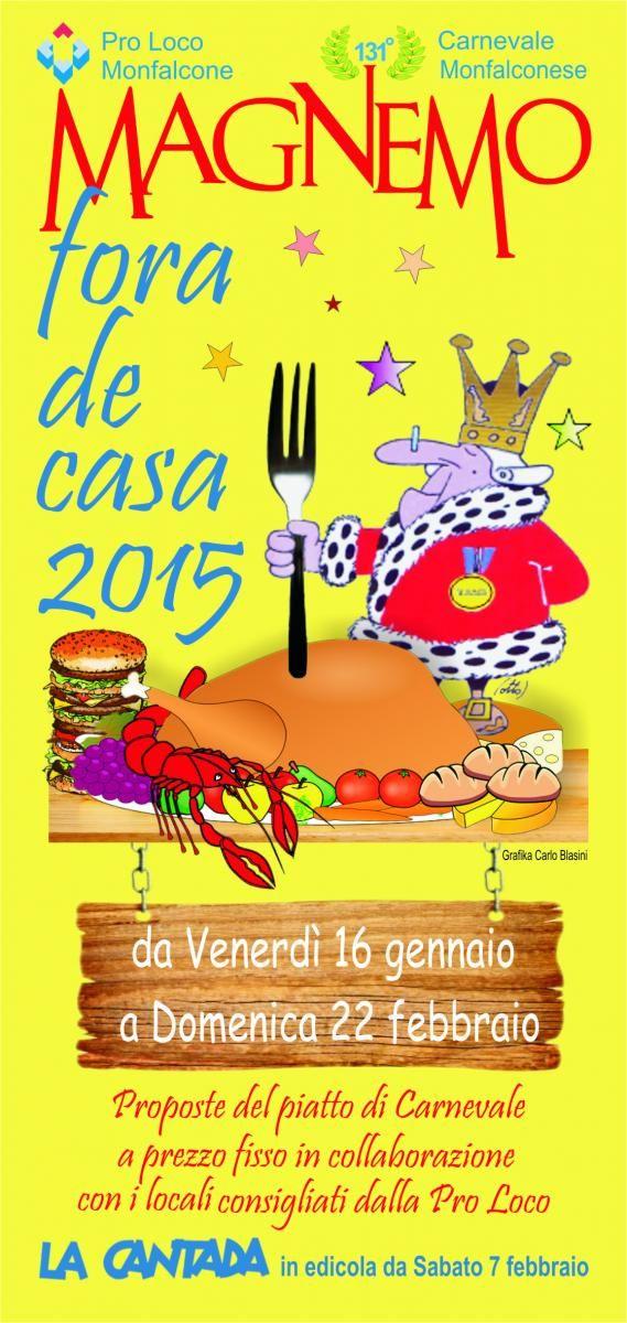 Iniziativa gastronomica in cui ristoranti del Mandamento Monfalconese offrono piatti tipici e sfiziosi a prezzo speciale